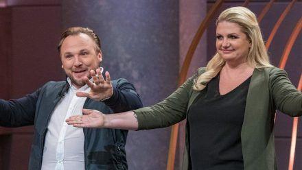 Die Gast-Löwen Anne und Stefan Lemcke.  (obr/spot)