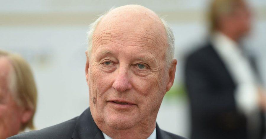 König Harald V. von Norwegen drückt sein Mitgefühl aus.