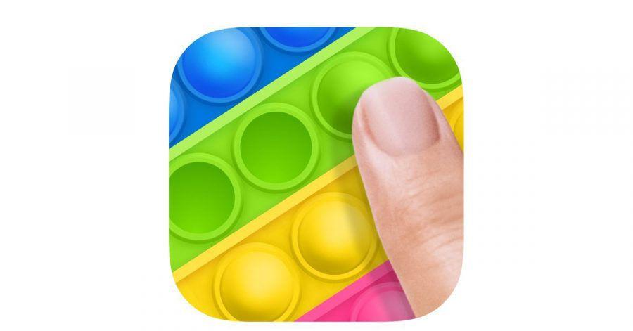 Bei «Bubble Ouch: Pop it Fidgets» geht es einzig darum, knallbunte Blasen platzen zu lassen.