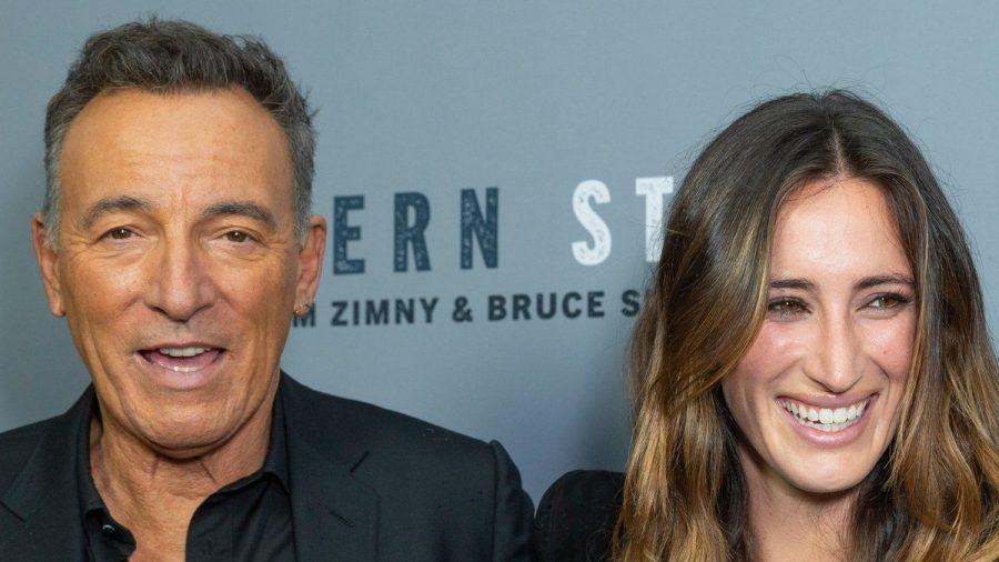 Bruce Springsteen mit seiner Tochter Jessica. (nra/spot)