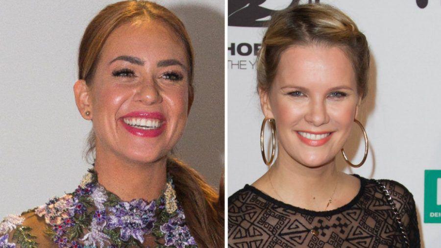 """Jessica Paszka (l.) und Monica Ivancan traten beide schon als """"Bachelorette"""" vor die Kamera. (jom/spot)"""