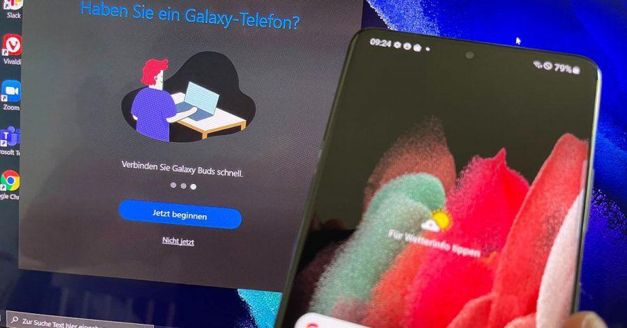Samsungs Galaxy Books sind zur engen Zusammenarbeit mit den Smartphones des Koreanischen Herstellers vorgerüstet.