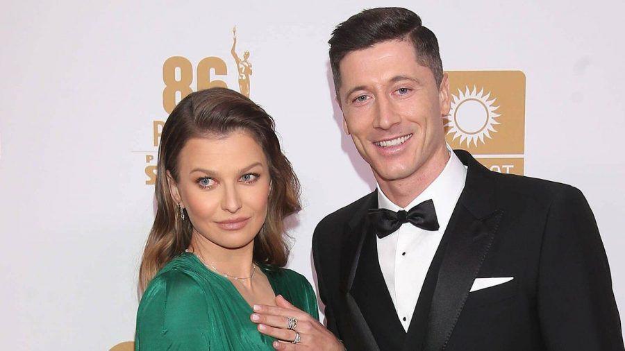 Robert Lewandowski und Anna Lewandowska sind seit acht Jahren verheiratet und haben zwei Kinder. (nra/spot)