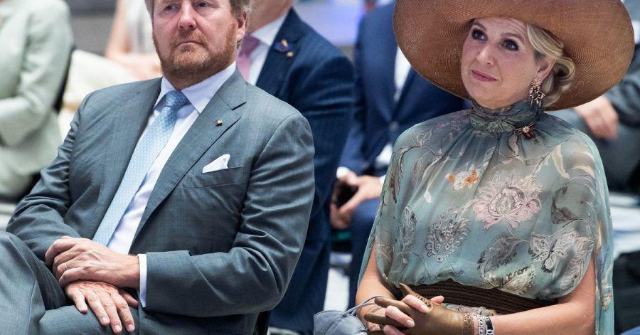 Dazulernen: König Willem-Alexander der Niederlande und Königin Máxima an der Technischen Universität Berlin.