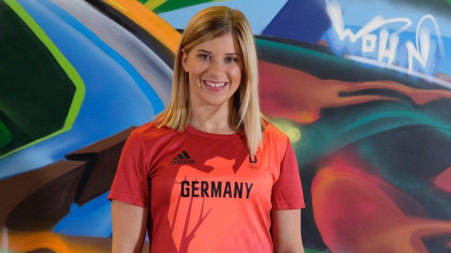 Turnstar Elisabeth Seitz geht mit gutem Beispiel voran.  (obr/spot)