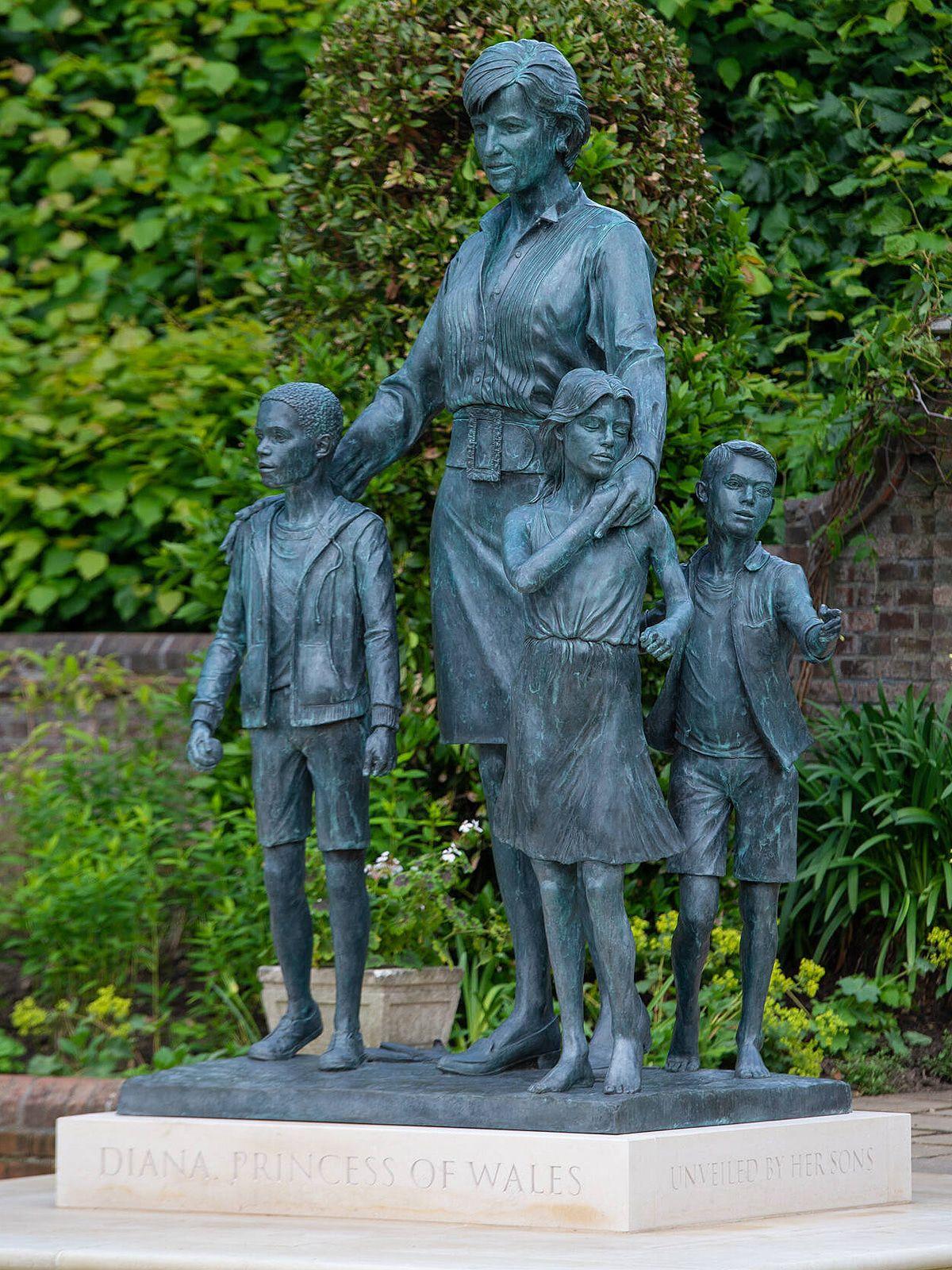 Enthüllung: Diese besondere Bedeutung hat die Diana-Statue