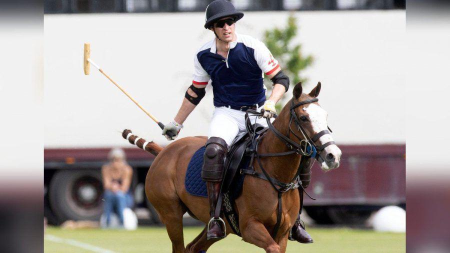 Prinz William bei dem Polo-Turnier. (jom/spot)