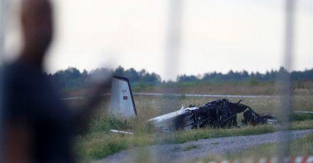 Beim Absturz eines Kleinflugzeugs sind in Schweden alle Insassen ums Leben gekommen.