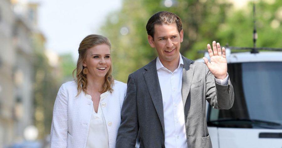 Österreichs Bundeskanzler Sebastian Kurz und seine Lebensgefährtin Susanne Thier erwarten ihr erstes Kind.