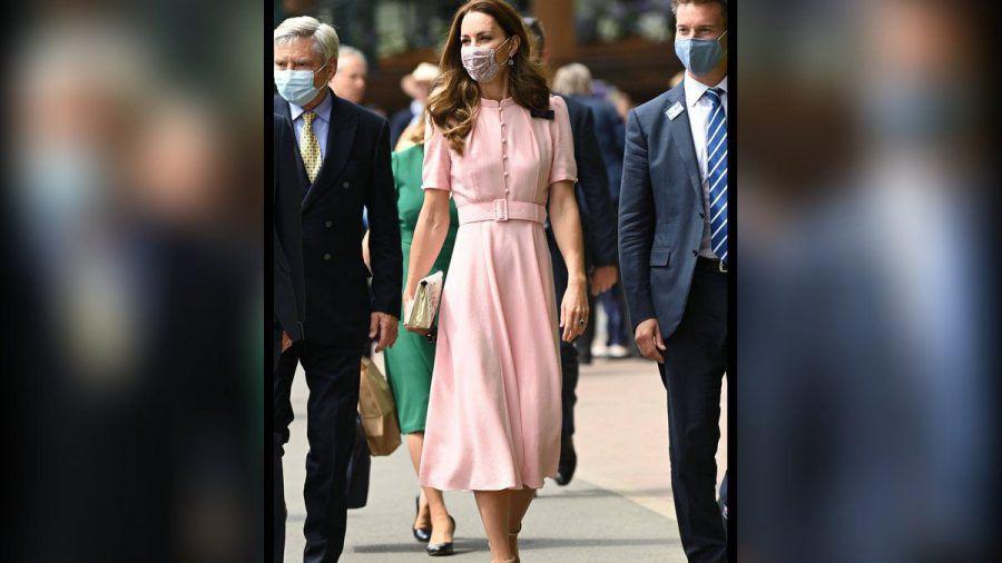 Herzogin Kate in Wimbledon. (hub/spot)