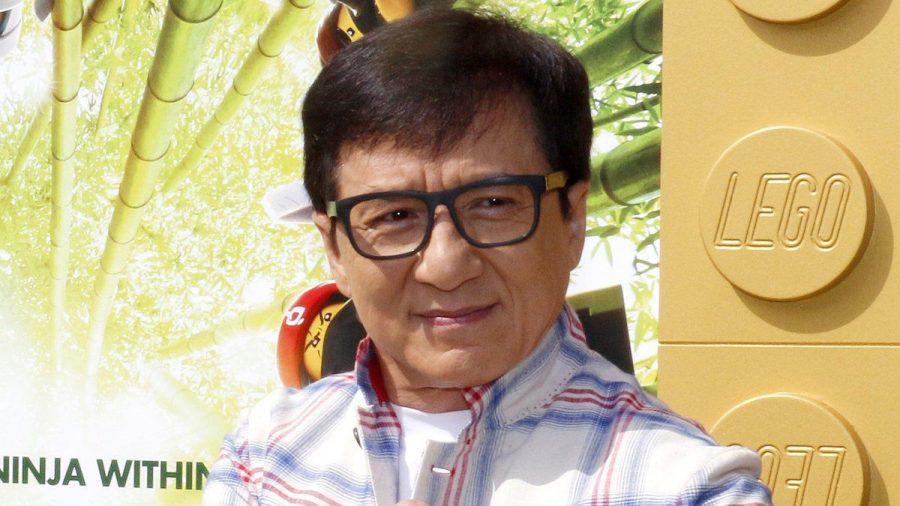 Jackie Chan während einer Filmpremiere in Los Angeles (wue/spot)