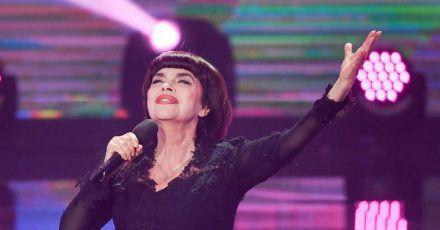 Die französische Sängerin Mireille Mathieu feiert ihren 75. Geburtstag.