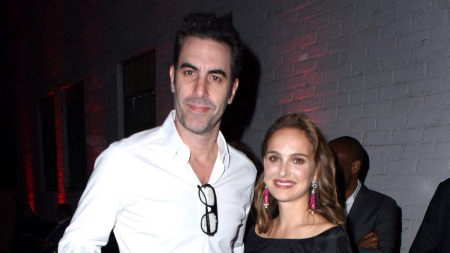Natalie Portman und Sacha Baron Cohen schipperten in Australien an der Grenze des Erlaubten.  (ili/spot)