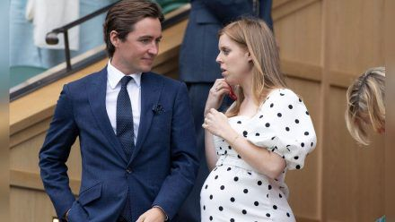 Prinzessin Beatrice und Edoardo Mapelli Mozzi in Wimbledon. (jom/spot)