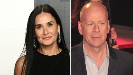 Demi Moore und Bruce Willis sind bis heute eng befreundet. (eee/spot)