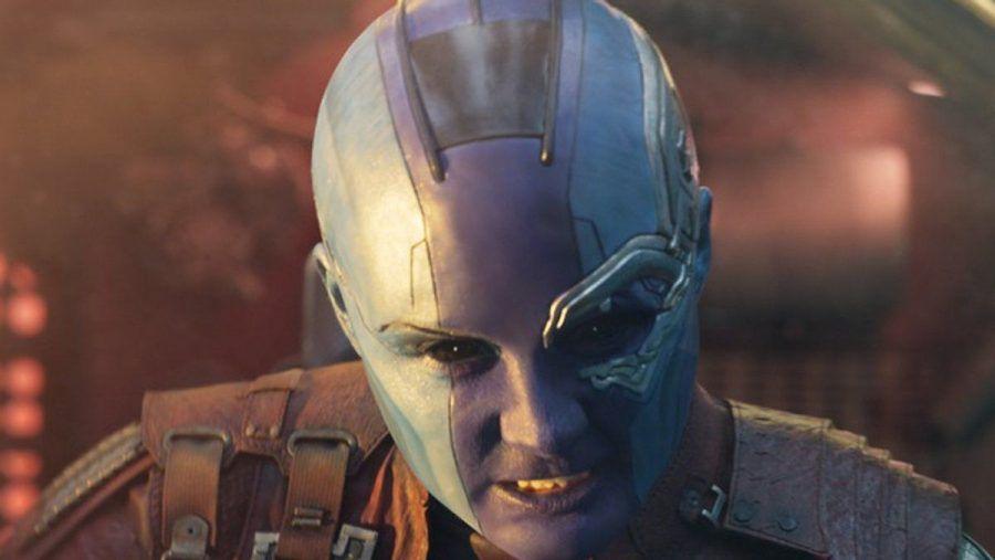 "Karen Gillan als Nebula in ""Guardians of the Galaxy Vol. 2"" (rto/spot)"