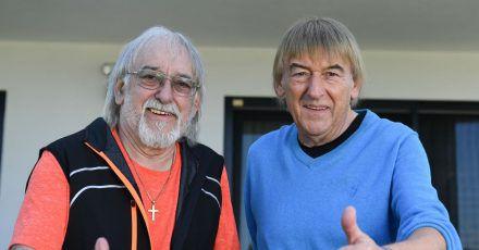 Die Brüder Bernd (r) und Karl-Heinz Ulrich, alias Die Amigos, setzten auf «Freiheit».