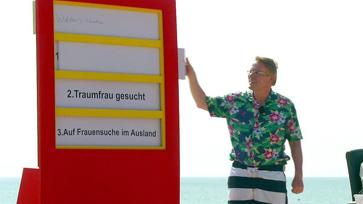 """""""Kampf der Realitystars"""": Walther Hoffmann, der Traumfrau-König ist endlich zurück!"""