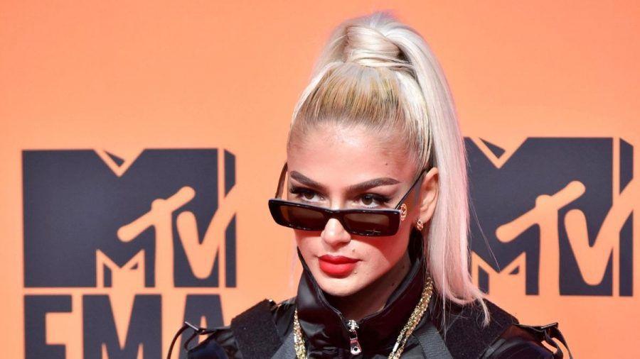 Loredana Zefi bei der Verleihung der MTV European Music Awards im Jahr 2019