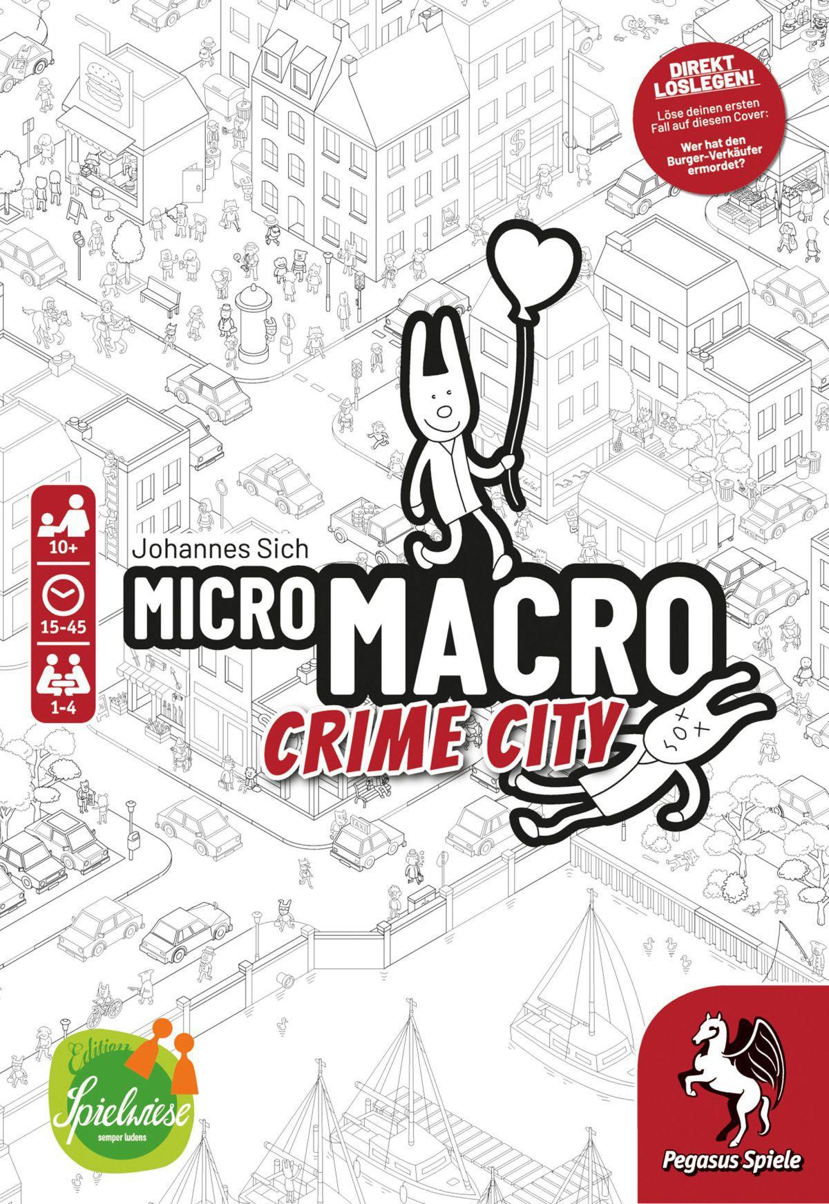 """""""MicroMacro: Crime City"""" wurde als """"Spiel des Jahres 2021"""" gekürt"""