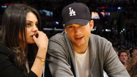 Mila Kunis & Ashton Kutcher: So oft baden sie ihre Kinder