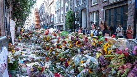 Erschossener Starreporter Peter de Vries: Niederländer nehmen Abschied