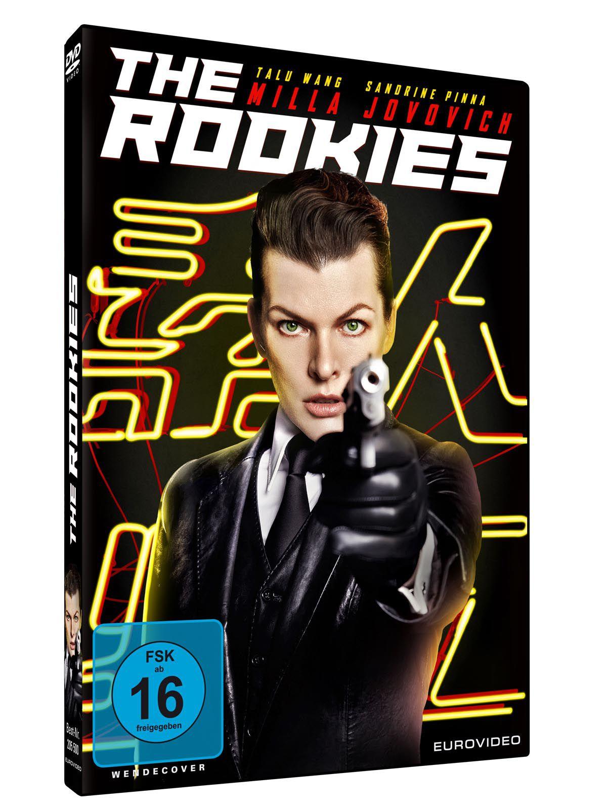 "Verlosung ""The Rookies"" mit Milla Jovovich als ultra-toughe Spezialagentin"