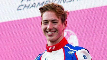 Schumacher-Sohn David über seinen 1. Formel-3-Sieg und Freundin Vivien