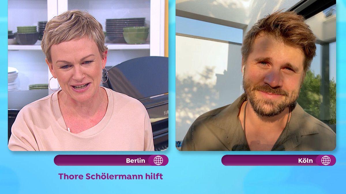 Thore Schölermann bricht live im TV in Tränen aus