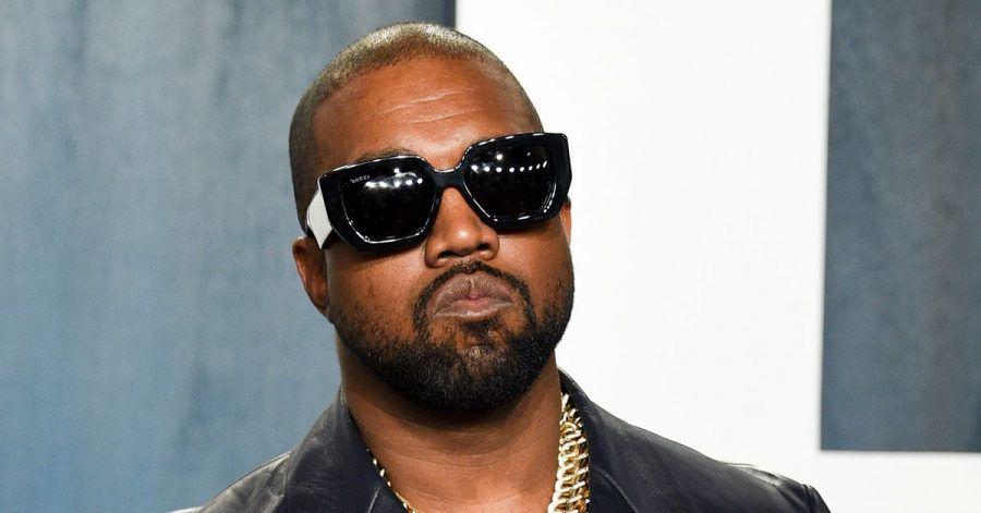 Kanye West bei der Vanity Fair Oscar Party 2020.