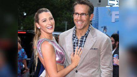 Blake Lively und Ryan Reynolds auf dem roten Teppich in New York. (mia/spot)