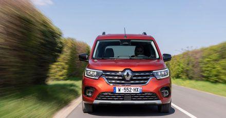 Alltagstauglich und schick:Mit dem neuen Kangoo versucht Renault dem SUV-Trend etwas entgegenzusetzen.