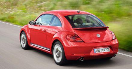 Retro-Käfer: Die zweite Generation vom New Beetle ab 2011 nannte VW einfach nur noch Beetle.