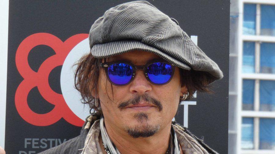 Johnny Depp im April 2021 in Barcelona (smi/spot)