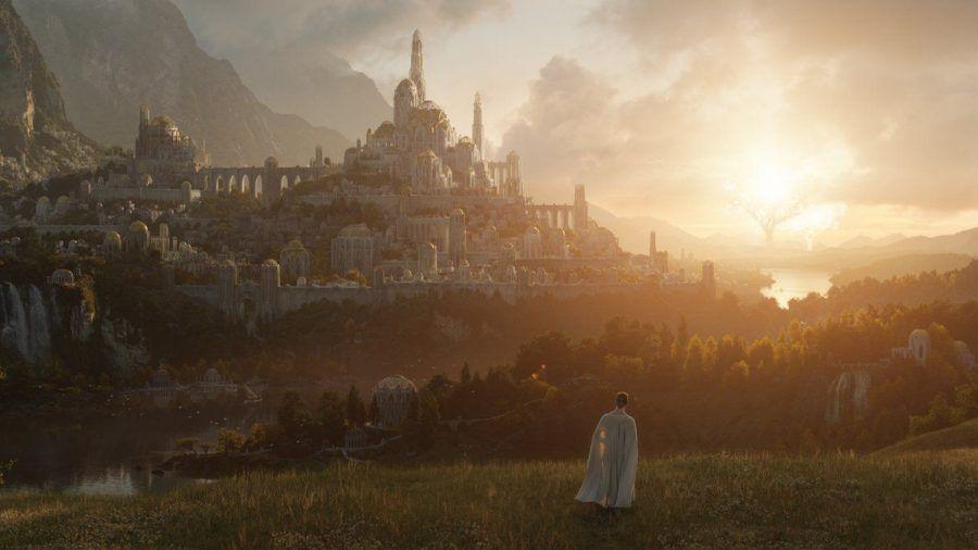 """Dieses Szenebild aus der kommenden """"Der Herr der Ringe""""-Serie wurde bereits veröffentlicht. (dr/spot)"""