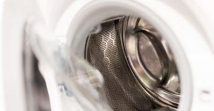 In der Waschmaschine bleibt nach dem Waschen Feuchtigkeit zurück, die das Wachstum eines Films aus Bakterien und Pilzen begünstigt.