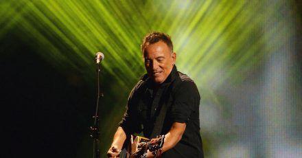 US-Sänger Bruce Springsteen hat sich in New York angesagt.