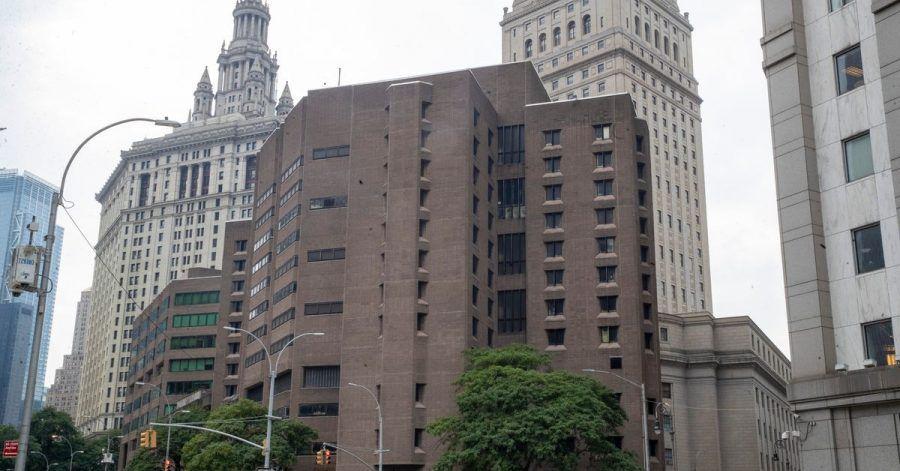 Das Metropolitan Correctional Center in New York.