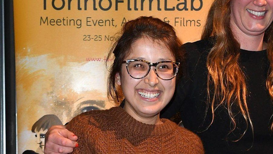 Ein Bild aus längst vergangenen Tagen: Shahrbanoo Sadat im Jahr 2016 beim Torino Film Festival in Italien.   (stk/spot)