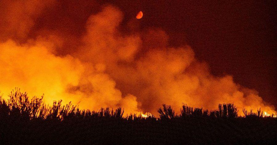 Durch die kritische Wetterlage in der Region haben sich mehrere Waldbrände in Nordkalifornien ausgebreitet.