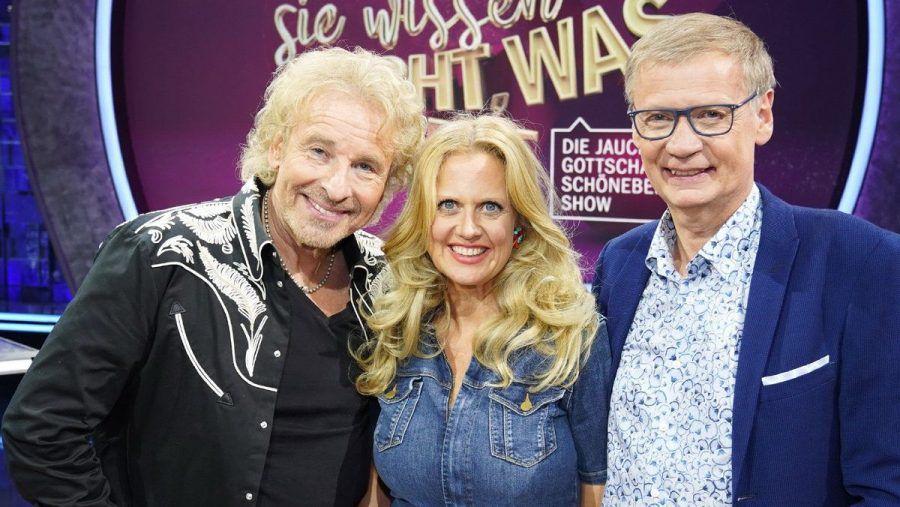 Thomas Gottschalk (l.), Barbara Schöneberger und Günther Jauch melden sich zurück.  (obr/spot)