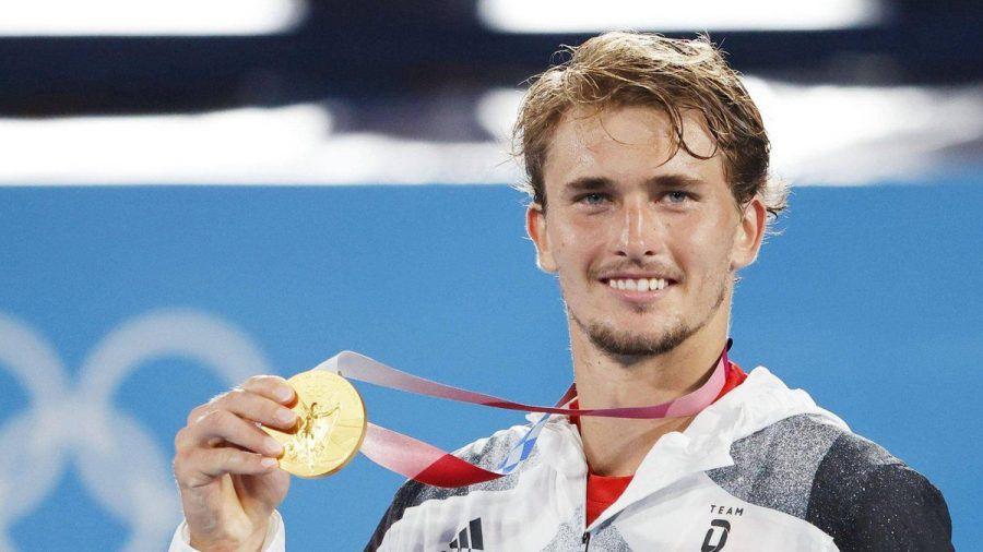 Alexander Zverev freut sich über seinen Triumph. (eee/spot)