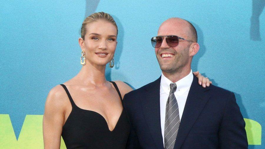 Rosie Huntington-Whiteley und Jason Statham auf einer Filmpremiere in Los Angeles. (wue/spot)