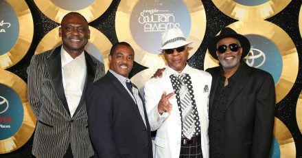 Kool & The Gang:George Brown, Ronald Bell, Dennis Thomas und Robert 'Kool' Bell.