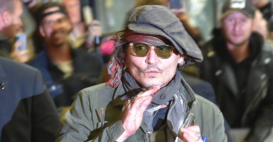 Johnny Depp beim Internationalen Karlsbader Filmfestival.