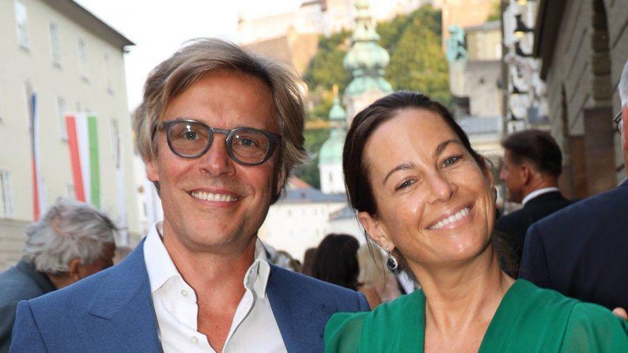 Marcus Sieberer und Birgit Lauda bei den Salzburger Festspielen (tae/spot)