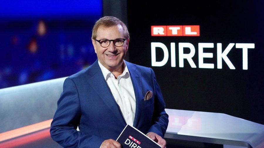 """Das neue Nachrichtenformat """"RTL Direkt"""" mit Anchorman Jan Hofer startet am 16. August. (ili/spot)"""