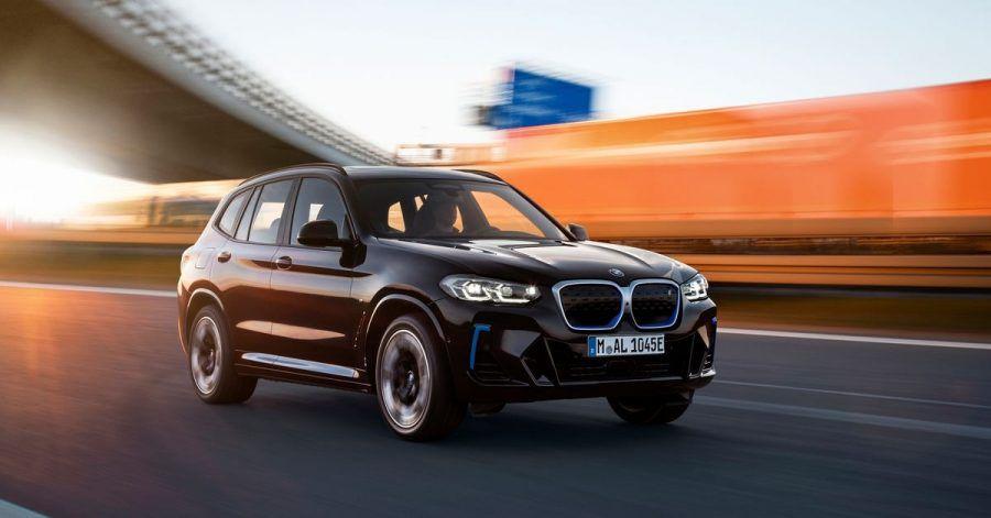 BMWverpasst dem elektrischen iX3 ein Update. Am Preis ändert sich kaum etwas.