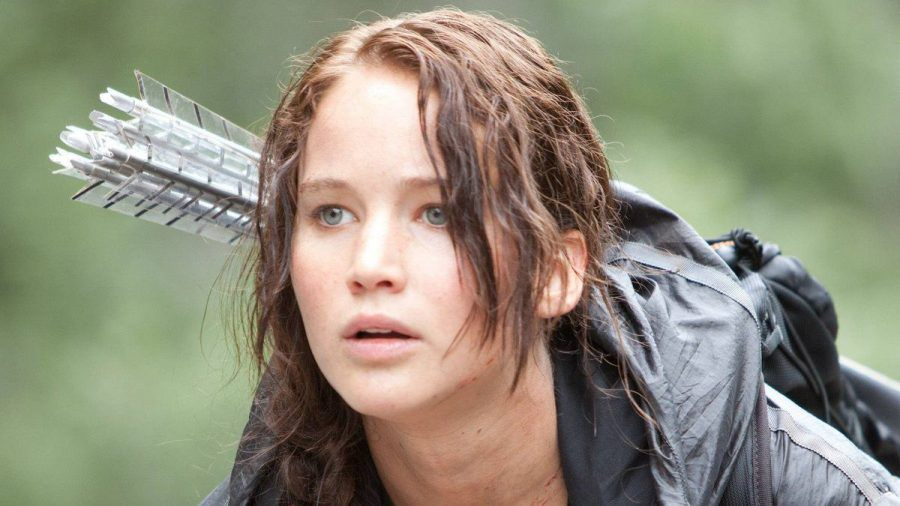 """Jennifer Lawrence spielte in den bisherigen """"Die Tribute von Panem""""-Filmen die Katniss Everdeen. (wue/spot)"""