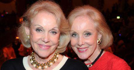 Zusammen ist man stärker:Alice (r) und Ellen Kessler.